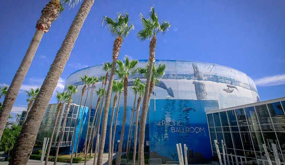 The Long Beach Convention and Entertainment Center's campus is itself a broadcasting studio.