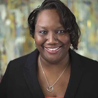 LaToya Williams, manager of global accounts at HelmsBriscoe