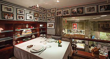 Dinner at the chefs table impresses vip attendees successful meetings pictured chef daniel bouluds private inner sanctum the skybox is available for groups at daniel workwithnaturefo