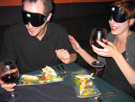 Seeing the Light While Dining in the Dark: Successful Meetings
