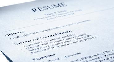 Gap resume fill