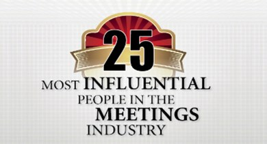 25 most influential meetings industry