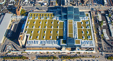 Its Spectacular Glass Pyramid Notwithstanding, New Yorku0027s Jacob K. Javits  Convention Center Looks From The Ground Like A Lot Of Other Convention  Facilities ...
