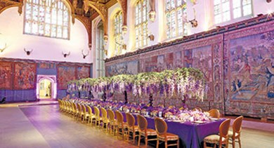 Hampton Court Palace's medieval Great Hall is one of the most spectacular event spaces in Great Britain.