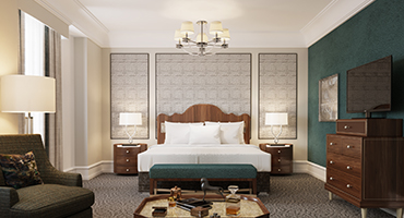Known As The South S Grand Hotel Peabody Memphis Is About To Undergo A Renovation Of All 464 Its Guest Rooms And Suites With Completion Slated