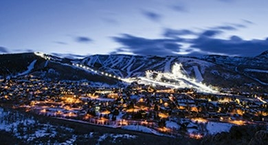 Park City Mountain glow