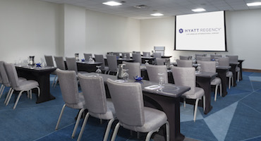 Hyatt Regency LAX Opens SelfContained Conference Center - Regency conference table