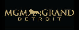 MGM Detroit Sponsor Scroll Logo